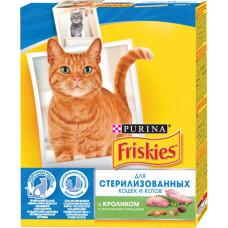 Purina Friskies для Стерилизованных Кошек и Котов с Кроликом и Овощами