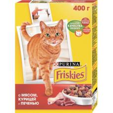Purina Friskies с Мясом, Курицей и Печенью