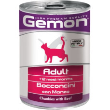 Gemon Cat Adult Chunkies with Beef