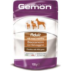 Gemon Dog Adult Chunkies with Wild Game