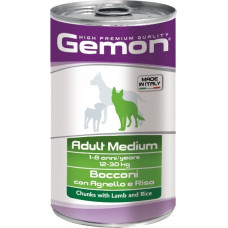 Gemon Dog Adult Medium Chunks with Lamb and Rice