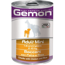 Gemon Dog Adult Mini Chunks with Chicken and Rice