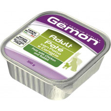 Gemon Dog Adult Pate with Chicken and Rabbit