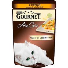 Purina Gourmet A la Carte с курицей и пастой a la Perline