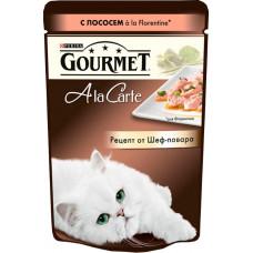 Purina Gourmet A la Carte с лососем a la Florentine