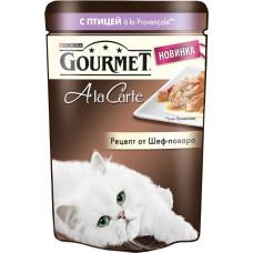 Purina Gourmet A la Carte с птицей a la Provencale