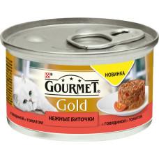 Purina Gourmet Gold Нежные Биточки (говядина и томат)