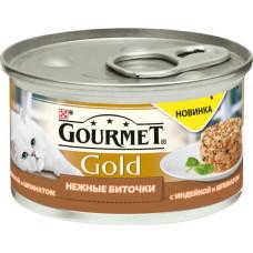 Purina Gourmet Gold Нежные Биточки (индейка и шпинат)