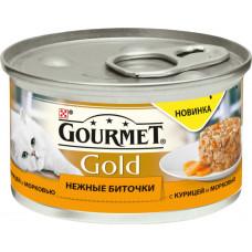 Purina Gourmet Gold Нежные Биточки (курица и морковь)
