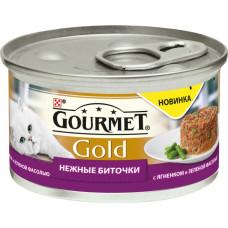 Purina Gourmet Gold Нежные Биточки (ягненок и зеленая фасоль)