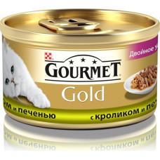 Purina Gourmet Gold (двойное удовольствие с кроликом и печенью)