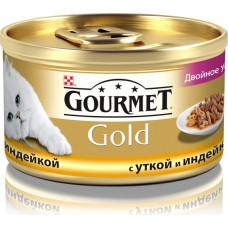 Purina Gourmet Gold (двойное удовольствие с уткой и индейкой)