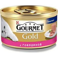 Purina Gourmet Gold (паштет с говядиной)