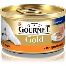 Purina Gourmet Gold (паштет с индейкой)