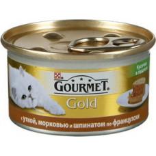 Purina Gourmet Gold (утка, морковь и шпинат по-французски)