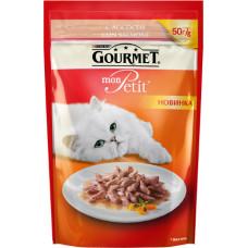 Purina Gourmet Mon Petit (кусочки в соусе с лососем)