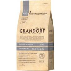 Grandorf Cat Adult Sterilised Rabbit & Brown Rice