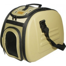 Ibiyaya складная сумка-переноска для собак и кошек до 6 кг (бежевая)