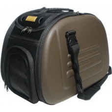 Ibiyaya складная сумка-переноска для собак и кошек до 6 кг (коричневая)