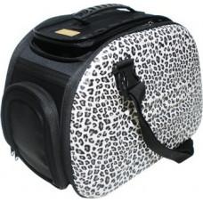 Ibiyaya складная сумка-переноска для собак и кошек до 6 кг (сафари)