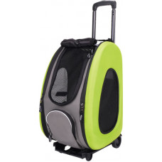 Ibiyaya складная сумка-тележка 3 в 1 для собак до 8 кг (сумка, рюкзак, тележка)