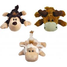 Kong Dog Cozie Натура (в ассортименте: обезьянка, барашек, лось)