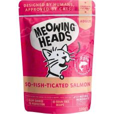 Meowing Heads So-fish-ticated Salmon / Фиш-гурман 100 г