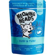 Meowing Heads Supurrr Surf & Turf / Все лучшее сразу 100 г