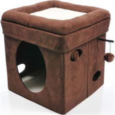 Midwest домик-лежанка Currious Cat Cube 38,4х38,4х42h см