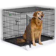 Midwest iCrate клетка 106х71х76h (черная 2-х дверная)