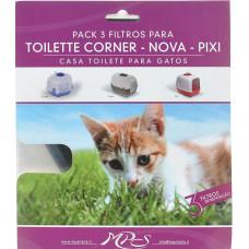 MPS фильтры для био-туалета Pixi, 3 шт.
