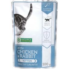 Nature's Protection Kitten with Chicken & Rabbit Healthy Growth