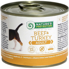 Nature's Protection Dog Adult Beef & Turkey