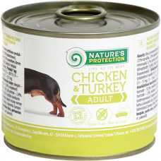 Nature's Protection Dog Adult Chicken & Turkey