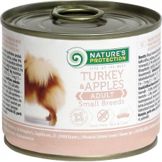 Nature's Protection Dog Adult Small Breeds Turkey & Apples