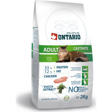 Ontario Adult Castrate Chicken & Yucca Extract