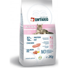 Ontario Kitten Chicken & Salmon Oil