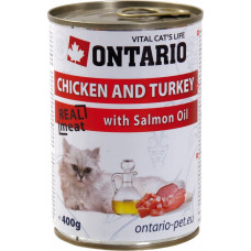 Ontario Chicken and Turkey with Salmon Oil
