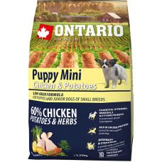 Ontario Puppy Mini Chicken & Potatoes