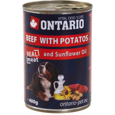 Ontario Beef with Potatos and Sunflower Oil