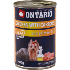 Ontario Chicken with Carrots and Salmon Oil