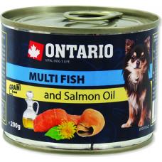 Ontario Mini Multi Fish and Salmon Oil