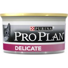 Purina Pro Plan Cat Delicate Мусс с Индейкой