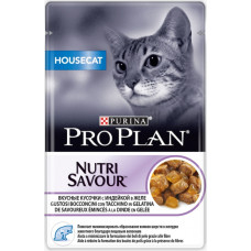 Purina Pro Plan Cat Housecat Кусочки с Индейкой в Желе