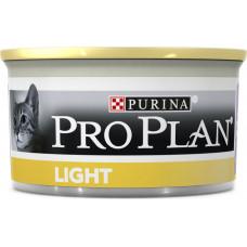 Purina Pro Plan Cat Light Кусочки с Индейкой в Соусе