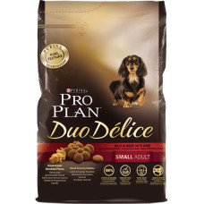 Purina Pro Plan Dog Duo Delice Small Adult Rich in Beef with Rice
