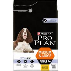 Purina Pro Plan Dog Medium & Large Adult +7 Rich in Chicken