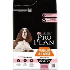 Purina Pro Plan Dog Medium & Large Adult +7 Sensitive Skin Rich in Salmon