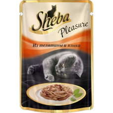 Sheba Pleasure Из телятины и языка