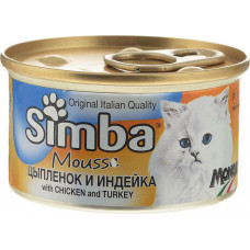 Simba Cat Mousse with Chicken and Turkey